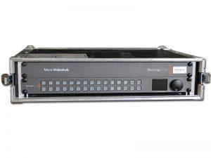HD-SDI Kreuzschiene 16x16 - Blackmagic Micro Videohub mieten