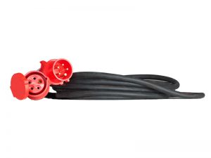10 Meter 16A CEE-Rot Drehstrom-Kabel mieten