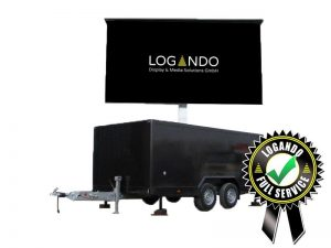 LED Trailer 15m² - 5,12m x 2,88m V:LED VSF6 LED Screen mieten
