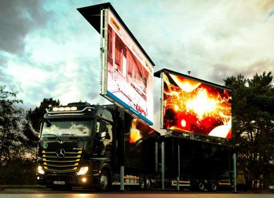 pilot Messe - LED Container 31m²