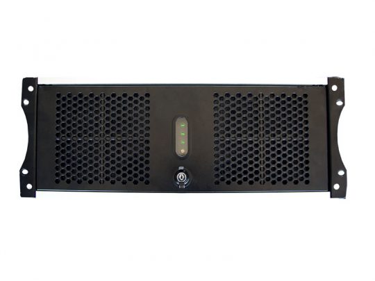 LOG PB Media PC UHD 4K Frontalansicht