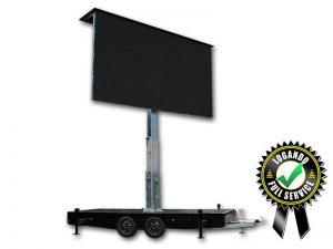 LED Trailer Cabrio 15m² - 5,12m x 2,88m V:LED VSF6 LED Screen mieten