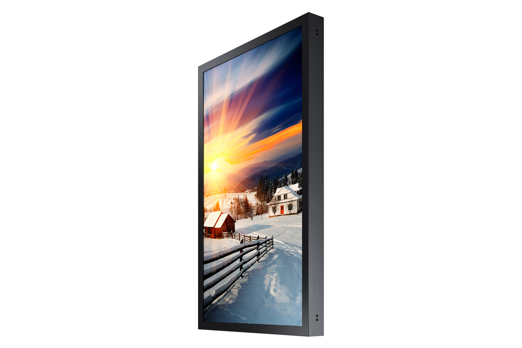 85 zoll lcd outdoordisplay samsung oh85f neuware kaufen bei logando. Black Bedroom Furniture Sets. Home Design Ideas