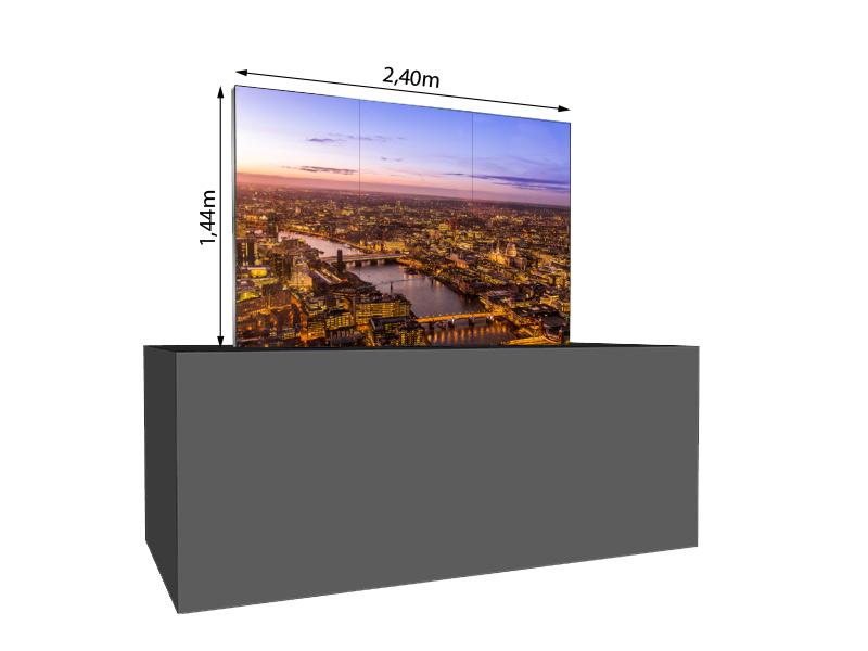 LED-Wand-1,44x0,96m-1,5qm---LEDitgo-2,5-PF