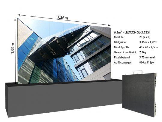 LED-Wand-3,36m-x-1,92m---3,75mm-LEDCON-SL-3,75SI-+-Infos
