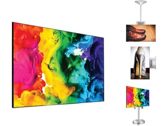 55 Zoll OLED doppelseitig - LG 55EH5C als Komplettset (Neuware) kaufen