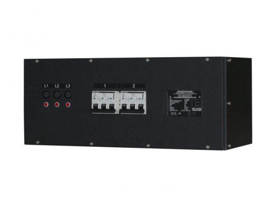Strom-Unterverteilung 125 A CEE-Rot 2 x 63 A CEE-Rot - Indu Electric mieten