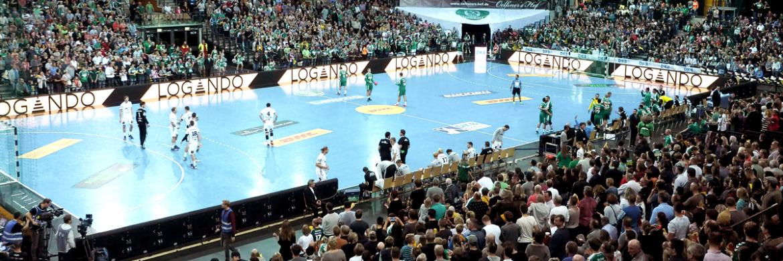 Logando ist jetzt offizieller Goldsponsor der SC DHfK Herren-Handballmannschaft