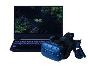 Set VR-Brille und 15,6 Zoll Laptop - HTC Vive Pro und XMG Pro 15 mieten