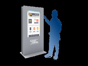 Kiosk-Stele-Display-Gehäuse-Ständer-SmartMetals-kaufen