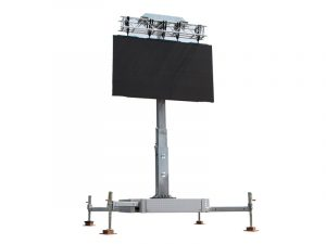 LED Tower 28m² - 7,00 m x 4,00 m LED-Wand Cobra mieten