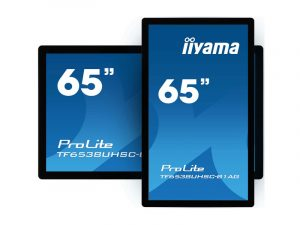 65 Zoll 50 Punkt Multi-Touch-Monitor - iiyama TF6538UHSC-B1AG (Neuware) kaufen